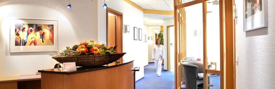 Dr. Schreder, Zahnarzt, Oralchirurg, Höhr-Grenzhausen, Empfang